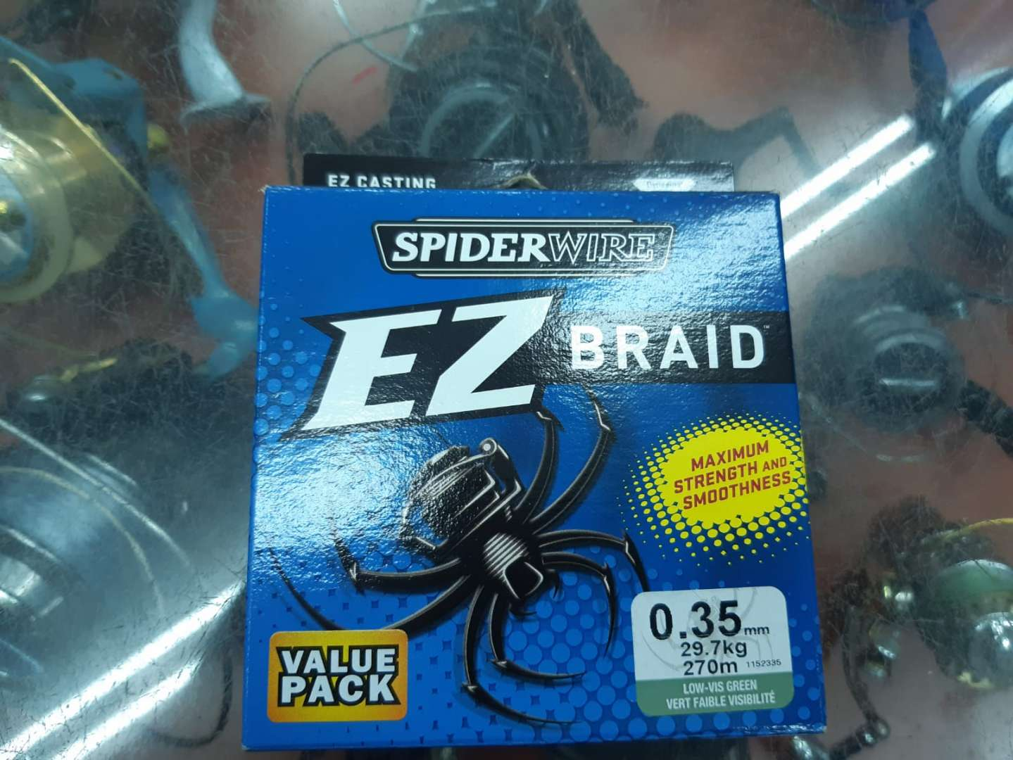 חוט בד EZ BRAID של SPIDERWEB
