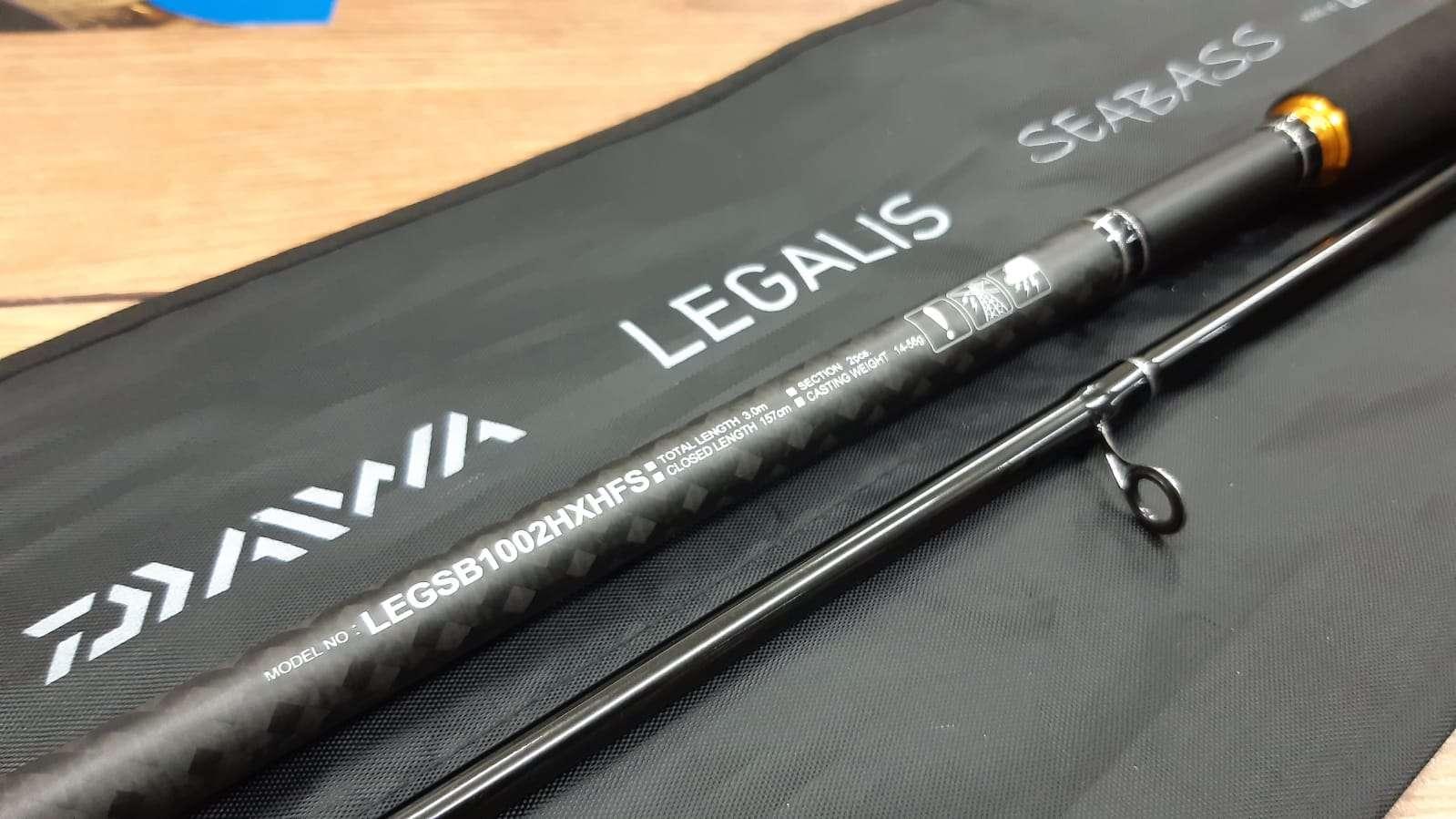 DAIWA LEGALIS 1002HXHFS