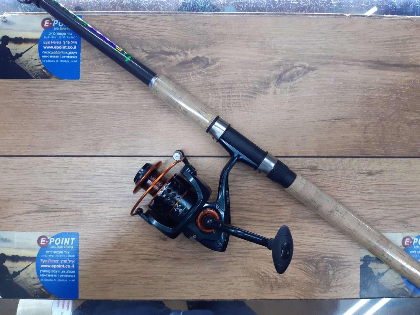 סט לדגים קטנים EPOINT SILLAGO pioner rascal